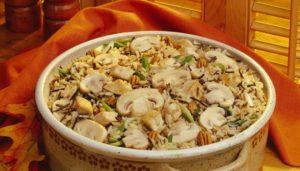 Италия. Кухня. Белые грибы в ризотто по - итальянски