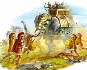 """Боевые слоны - """"танки"""" античного мира"""