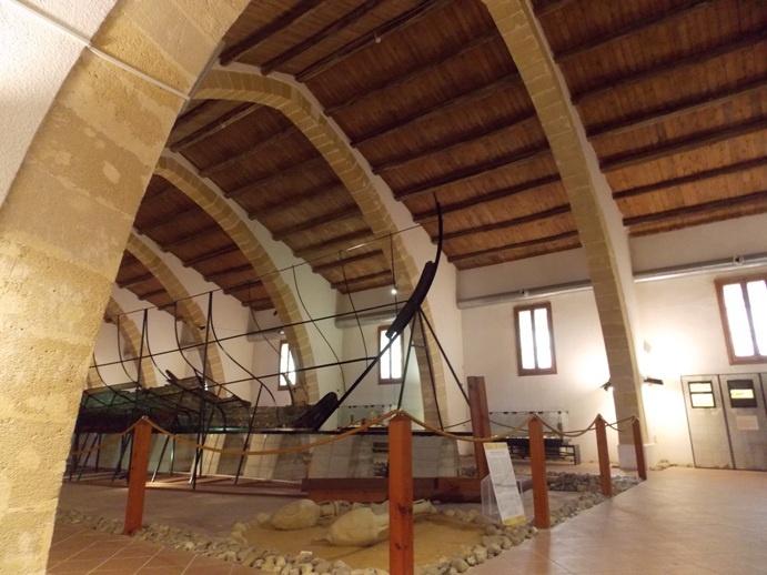 Археологический музей Марсала. Остов финикийского военного корабля