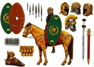 Вооружение римского всадника