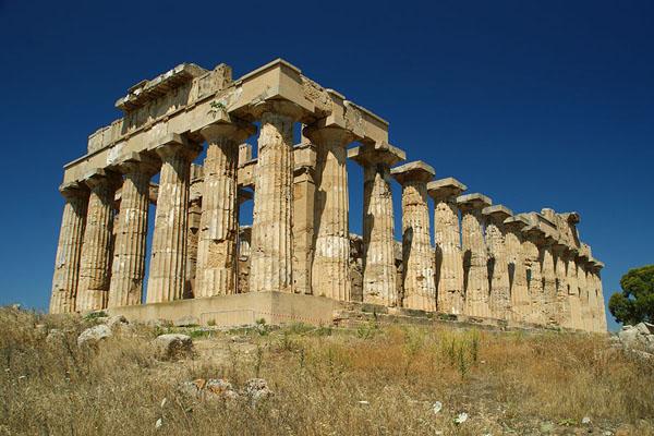 Древнегреческий храм Аполлона в Селенунте
