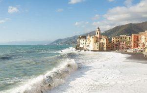 Италия Камольи Город-курорт рядом с Генуей