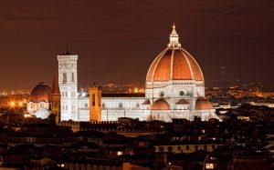 Флоренция Фото Собора ночью