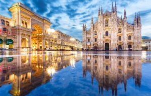 Милан Фотография главной площади