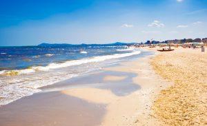 Римини Фотография побережья