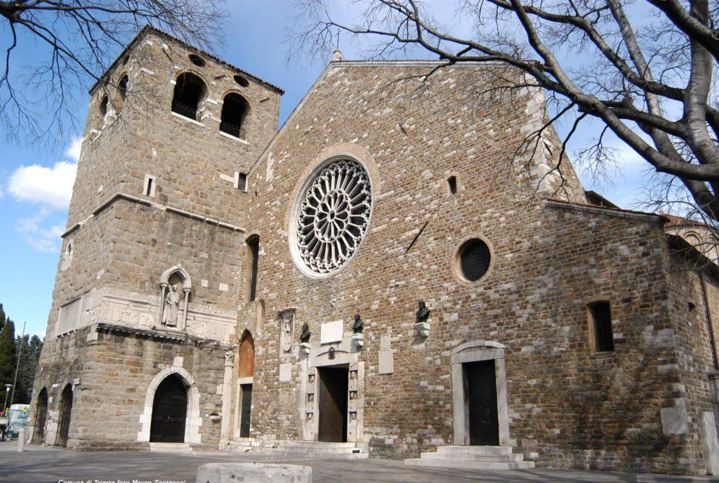 Италия Триест Кафедральный собор Сан-Джусто