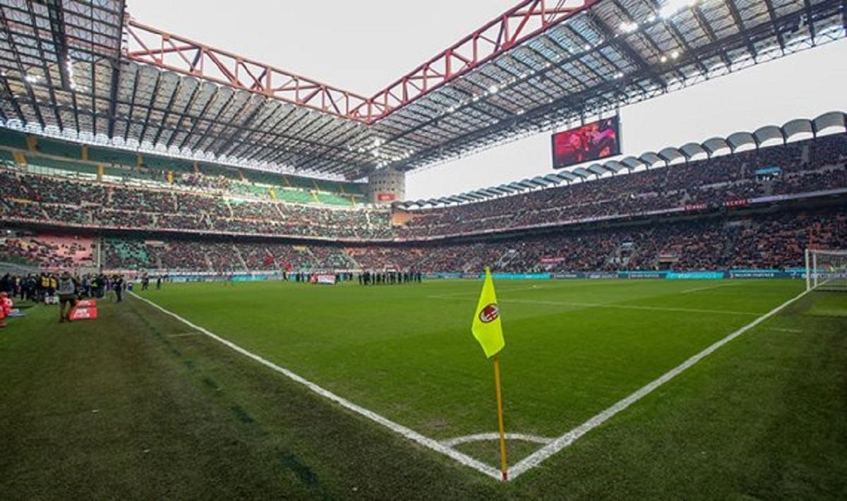 Стадион Сан-Сиро. Милан. Италия.