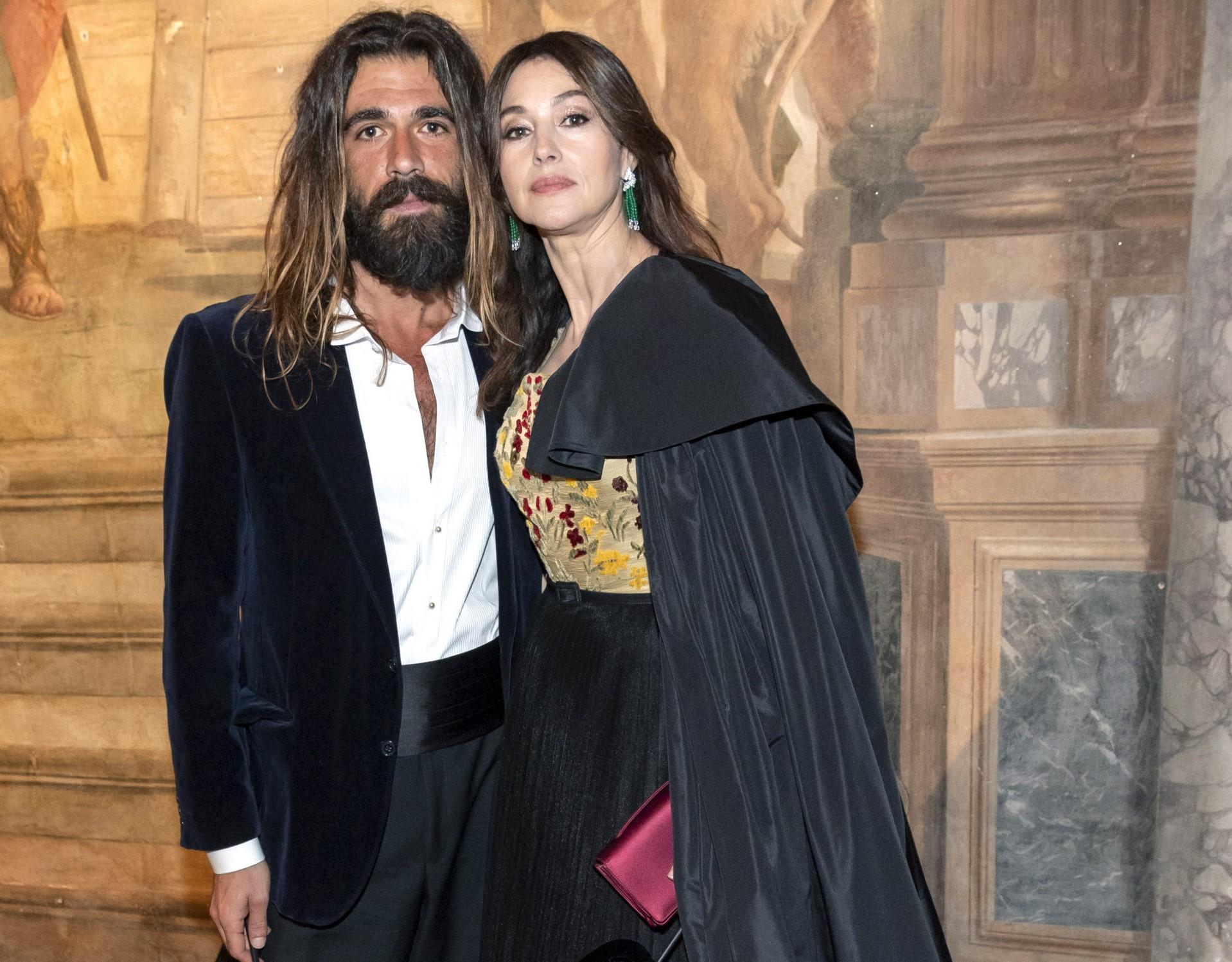 Знаменитости: Николас Лефевр и Моника Беллуччи