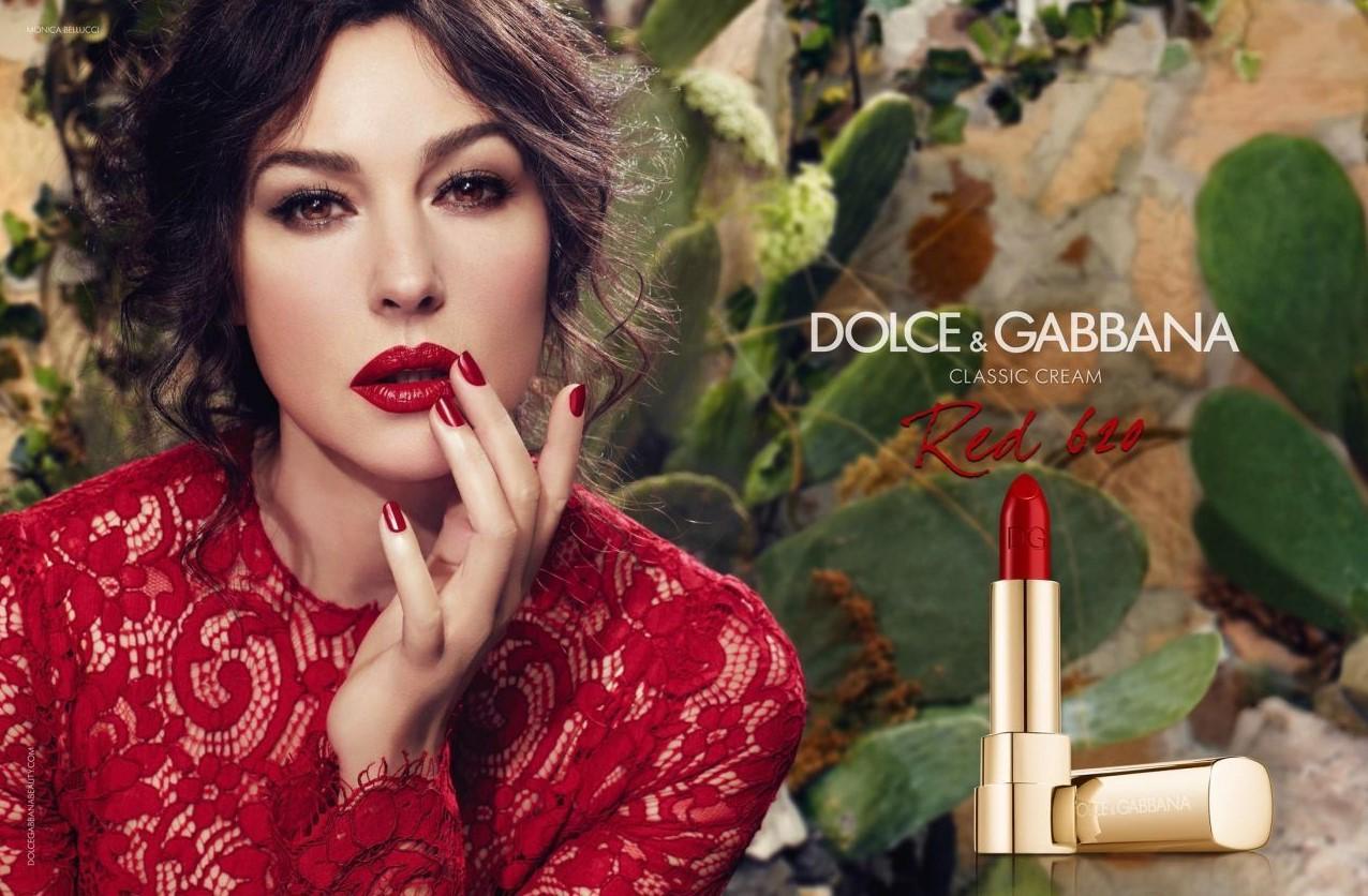 Реклама косметики. Моника Беллуччи рекламирует известный бренд