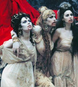 """Фот со съёмок фильм """"Дракула"""". Невесты Дракулы"""
